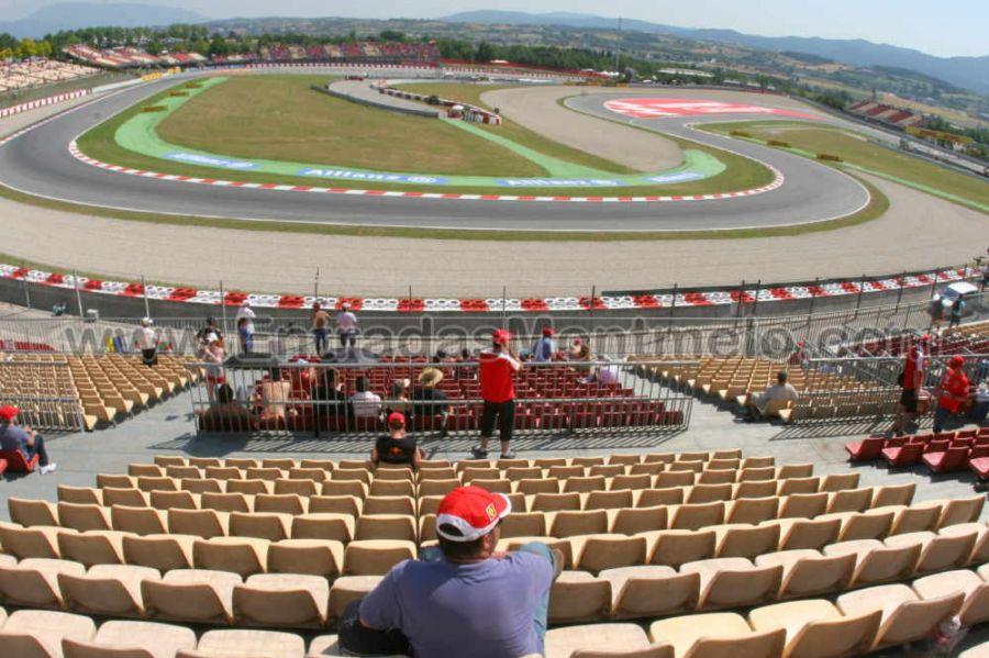 Circuito Montmelo : Entrada tribuna b montmelo f1 barcelona entradas gp barcelona